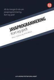 Javaprogrammering  -  kort og godt