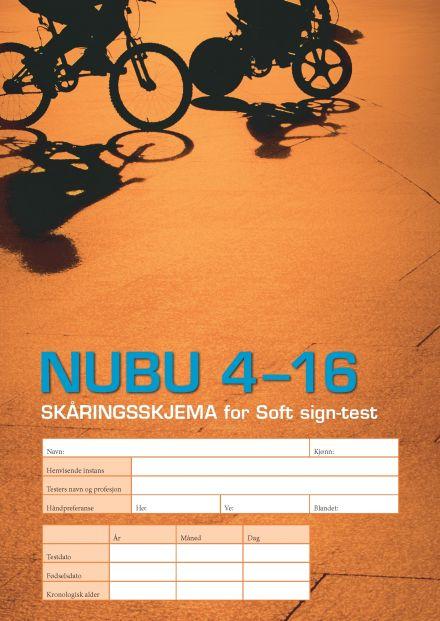 NUBU 4-16 Skåringskjema Soft sign-test.