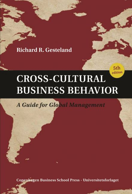 Cross Cultural Business Behavior 5th edition