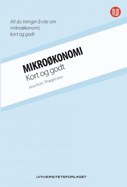 Mikroøkonomi  -  kort og godt