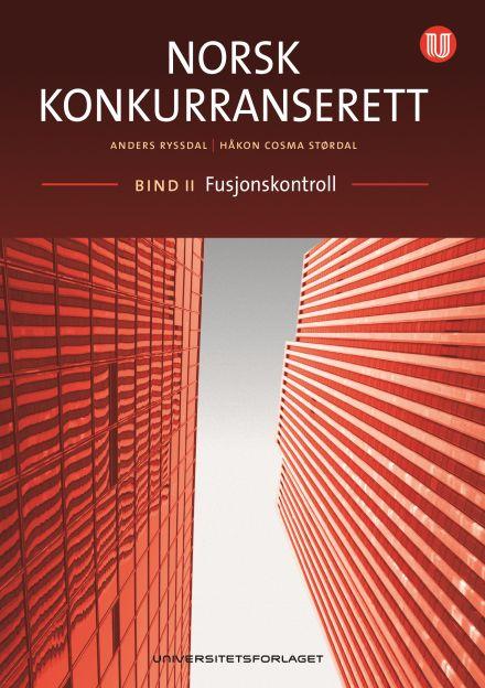 Norsk konkurranserett, bind II