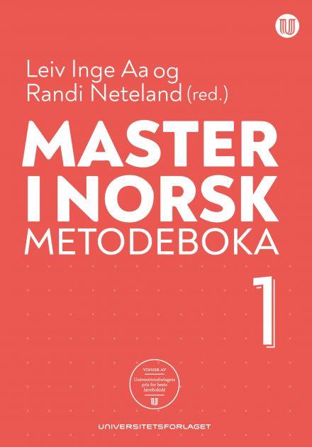 Master i norsk. Metodeboka 1