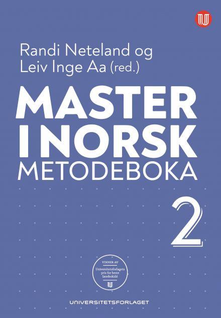 Master i norsk. Metodeboka 2